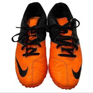 Nike Bomba II Turf Soccer Shoes Orange Size 10.5